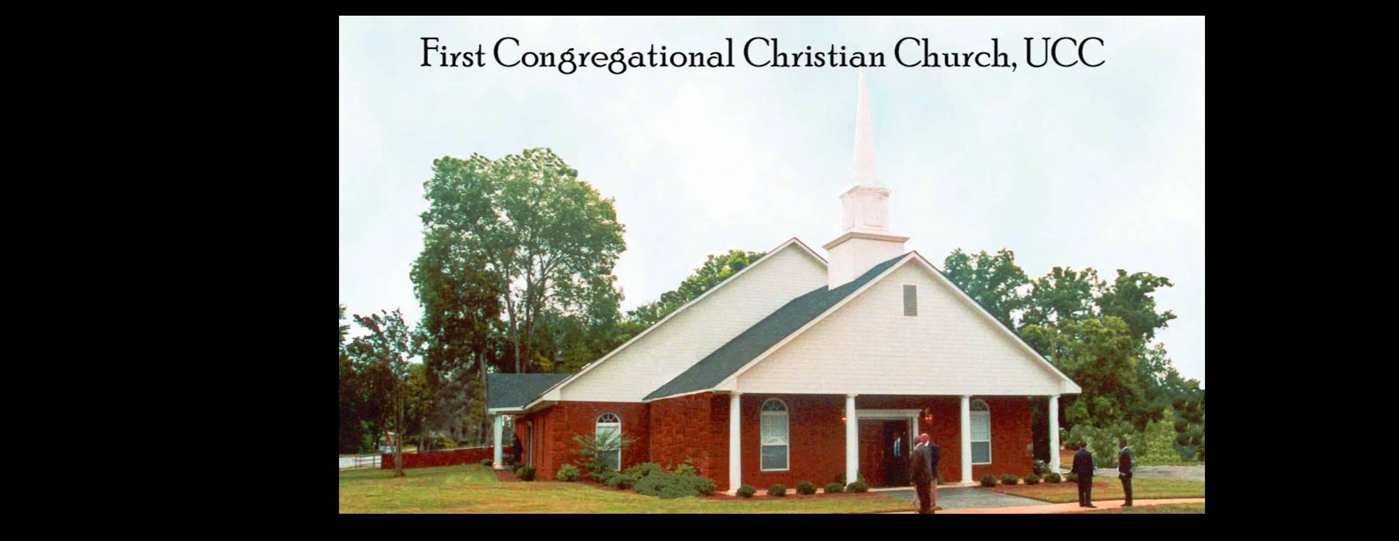 First Congregational Christian Church, UCC |