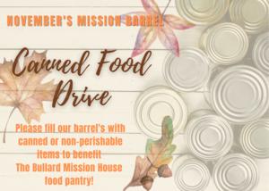 November's mission barrel medium