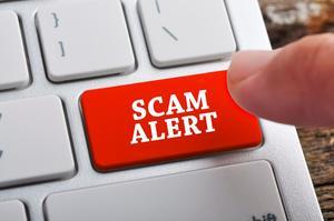 Scam alert medium