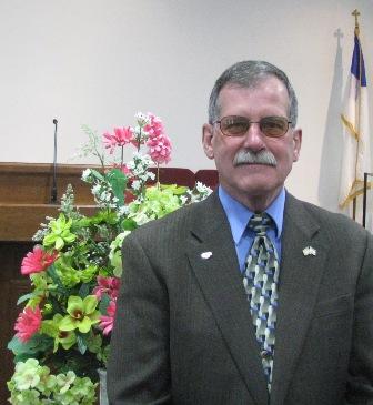 Terry Tanner, Chairman of Deacons