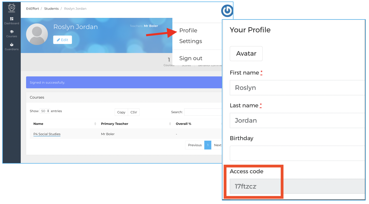 How to add more students to your Guardian portal | E4Effort