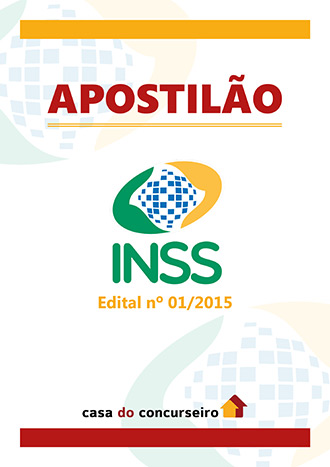 Apostila preparatória para concurso INSS - Técnico do Seguro Social