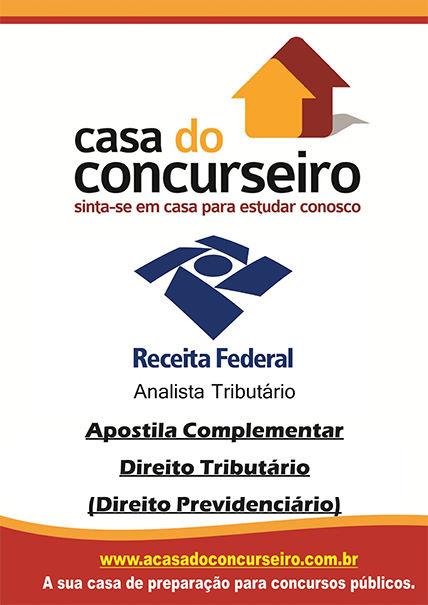 Apostila preparatória para concurso RF 2015 - Analista - Apostila Complementar Receita Federal 2015 - Analista