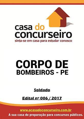 Apostila preparatória para concurso Corpo de Bombeiros-PE - Soldado