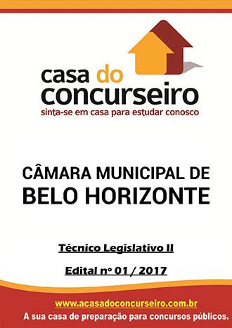 Apostila preparatória para concurso Câmara Municipal de Belo Horizonte-MG  Câmara Municipal de Belo Horizonte - MG - Edital n°1/2017
