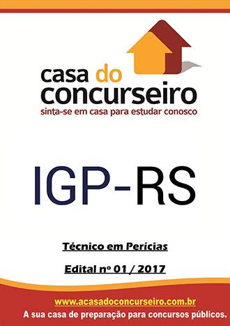 Apostila preparatória para concurso IGP-RS - Técnico em Perícias
