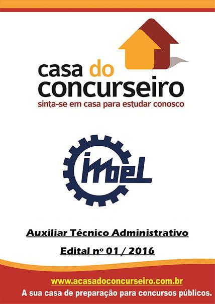 Apostila preparatória para concurso IMBEL – Edital n° 01/2016 Indústria de Material Bélico do Brasil - Edital nº 01/2016