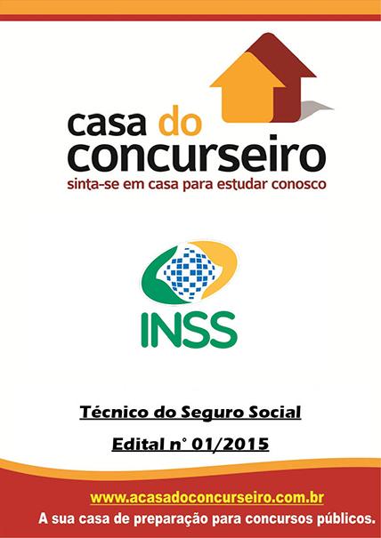 Apostila preparatória para concurso INSS Técnico - 2015 INSS - Técnico do Seguro Social