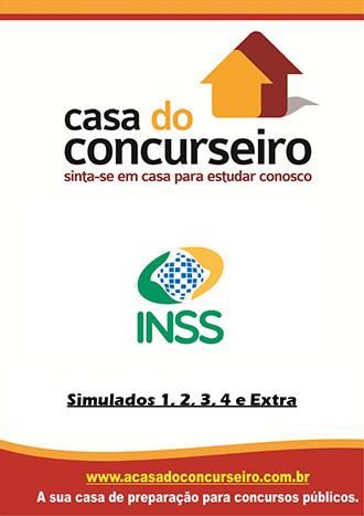 Apostila preparatória para concurso Simulados INSS – Edital nº 01/2015