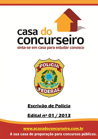 Apostila preparatória para concurso Polícia Federal - Escrivão de Polícia PF - Escrivão de Polícia Federal