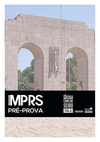 Apostila preparatória para concurso Pré-prova MP-RS Agente Administrativo 2015