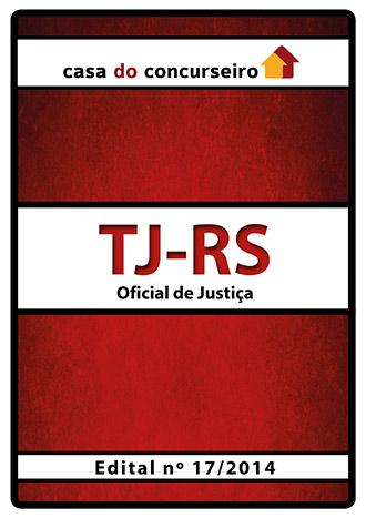 Apostila preparatória para concurso TJ-RS - Oficial de Justiça - Pré-edital 2