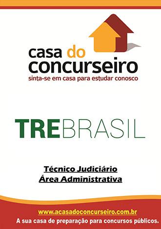 Apostila preparatória para concurso TRE Brasil - Técnico Judiciário  Tribunal Regional Eleitoral