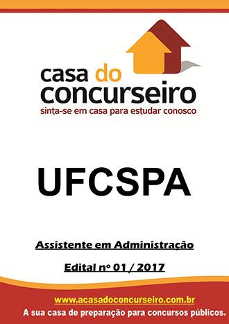 Apostila preparatória para concurso UFCSPA - Assistente em Administração