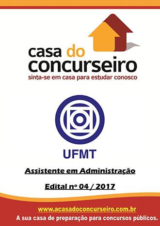 Apostila preparatória para concurso UFMT - Assistente em Administração