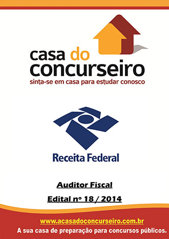 Apostila preparatória para concurso Receita Federal  2015 - Auditor Fiscal AFRF - Auditor Fiscal da Receita Federal