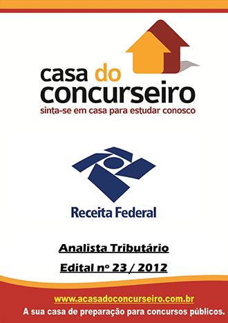 Apostila preparatória para concurso Receita Federal - Analista Tributário - 1