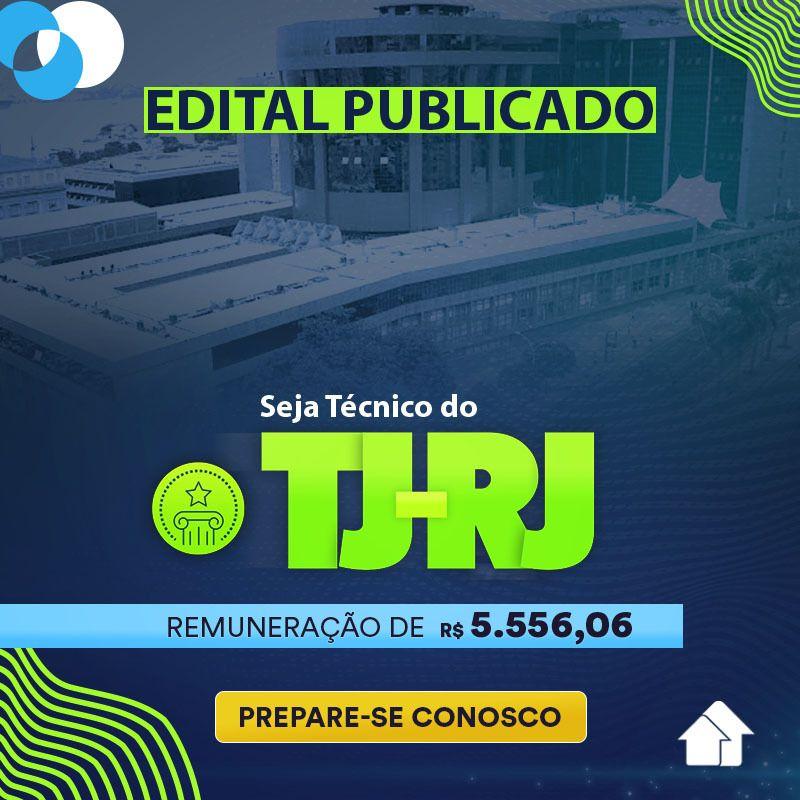 TJ-RJ Edital Publicado