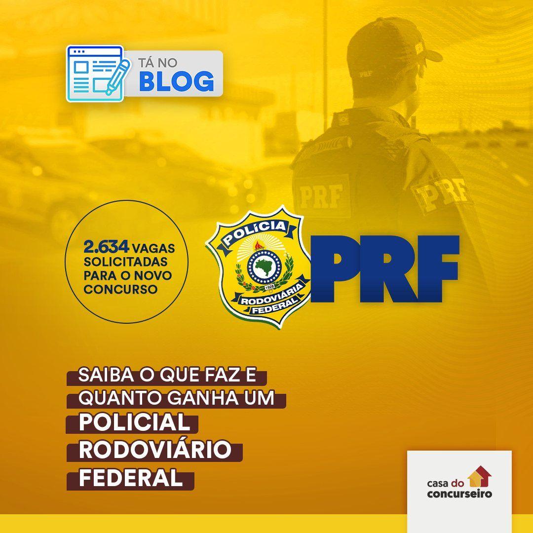 Concurso PRF - blog