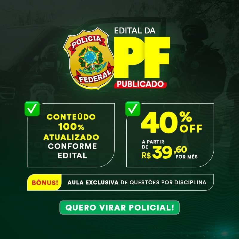 Edital PF