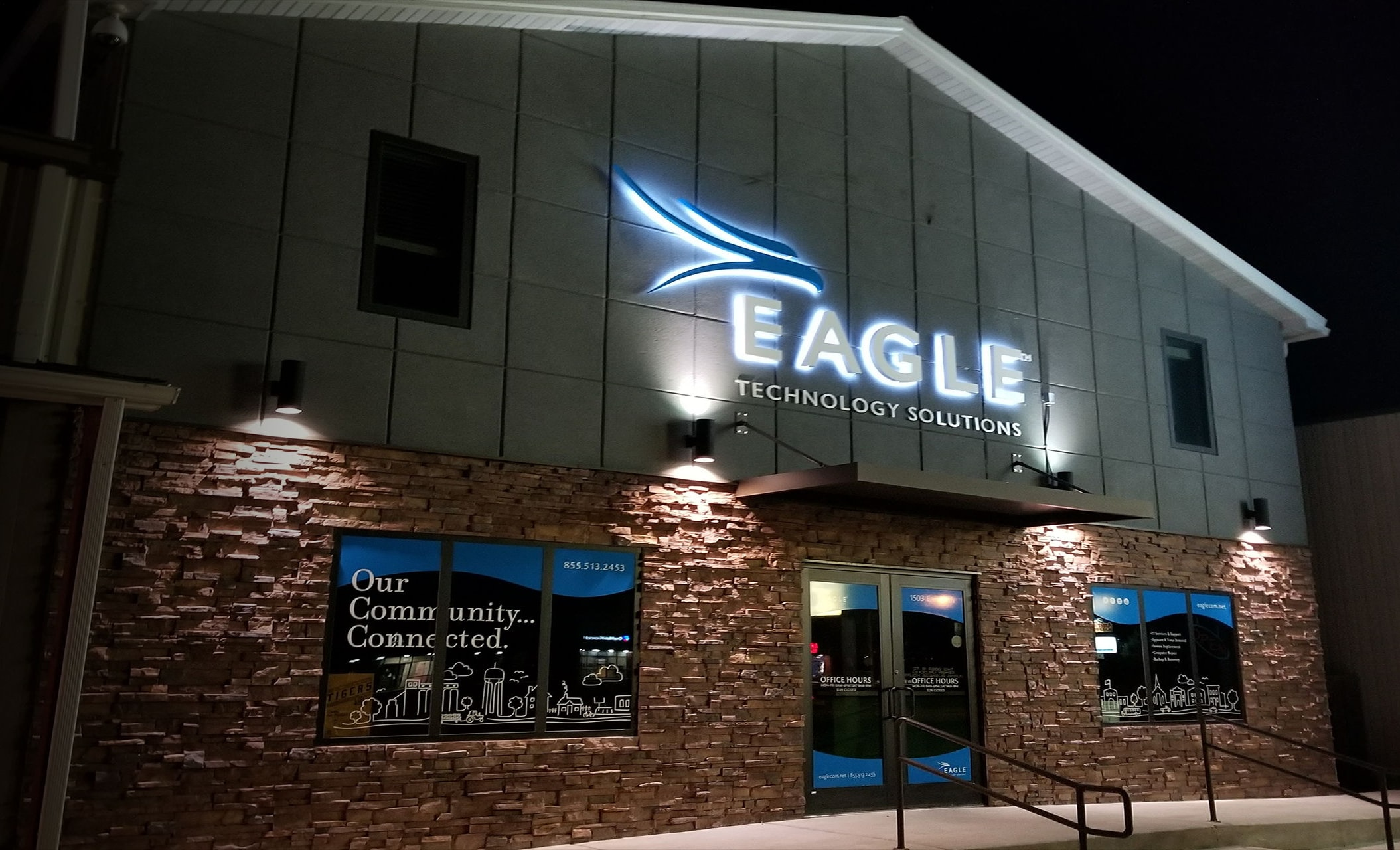 Eagle Technology Solutions building