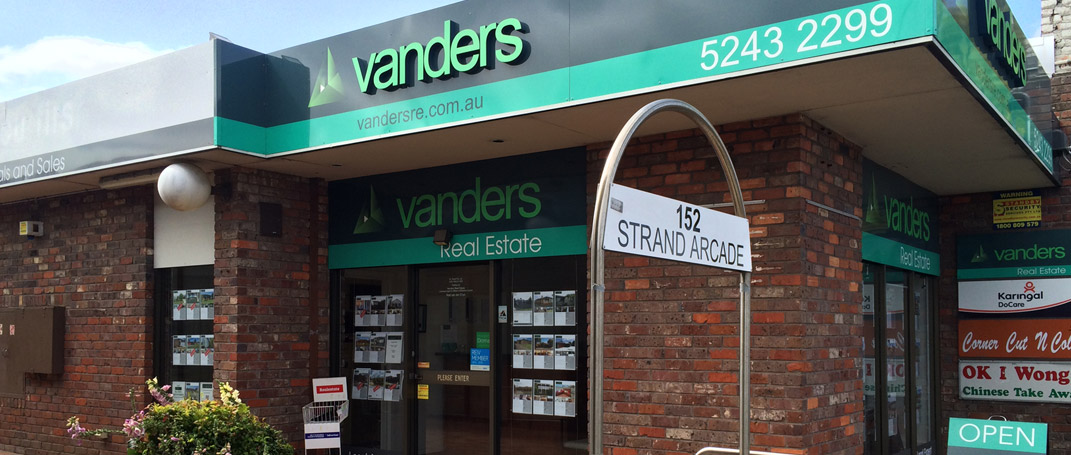 About Vanders Real Estate Geelong