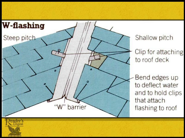 What Kind Of Valley Flashing Should We Put On Our Roof