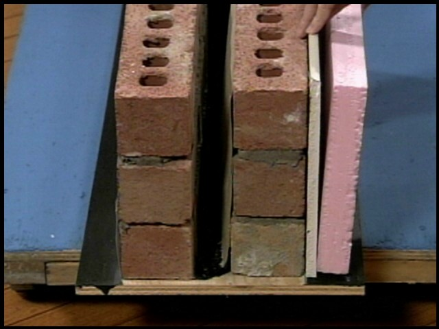 How do you insulate a double brick wall for Stone wall insulation