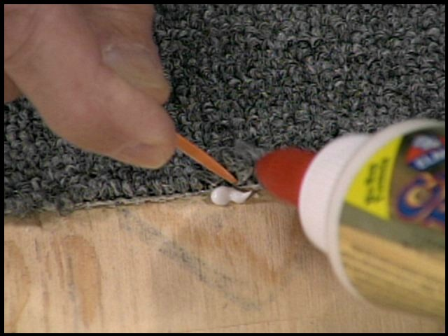 How To Fix Unraveling Carpet Floor Matttroy