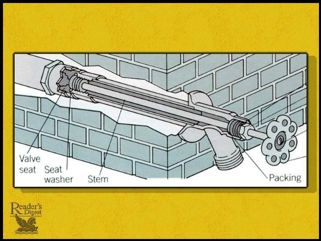 how do i unfreeze a frozen hose bib