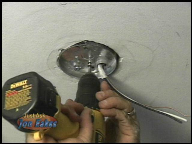 Fixing a bad wiring job.