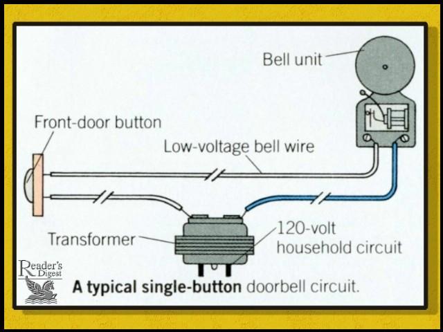 How do you hook up a doorbell transformer