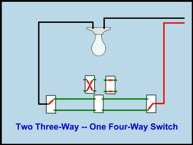 Can I have three light switches controlling one light?