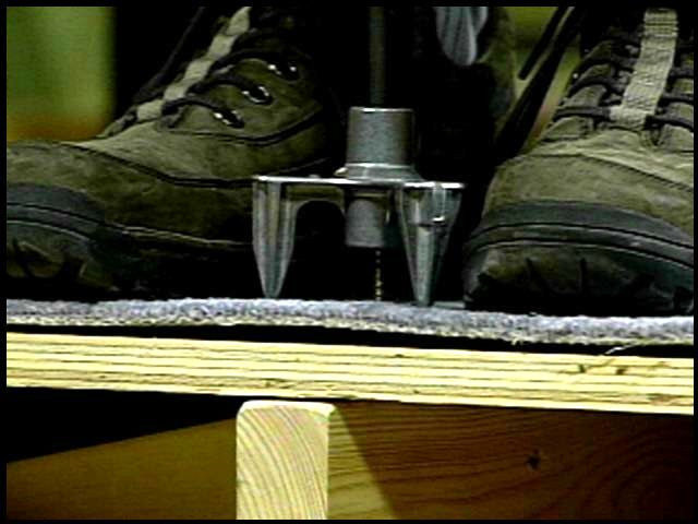 A Special Screw Device For Squeaking Floors