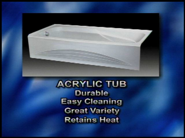 Compare metal to acrylic bathtubs for Pros and cons of acrylic bathtubs