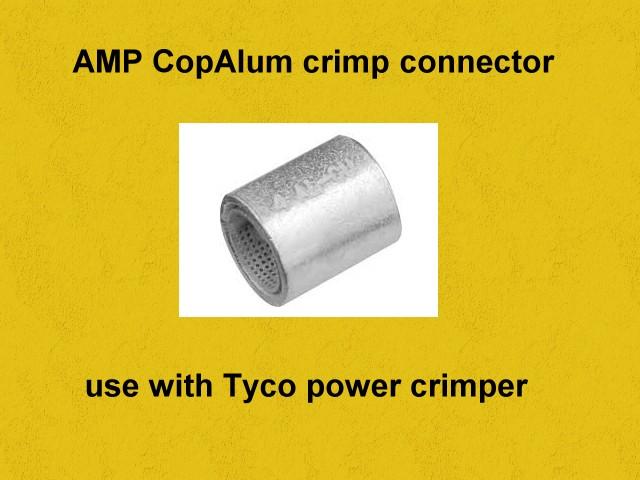 Aluminum to Copper electrical connectors