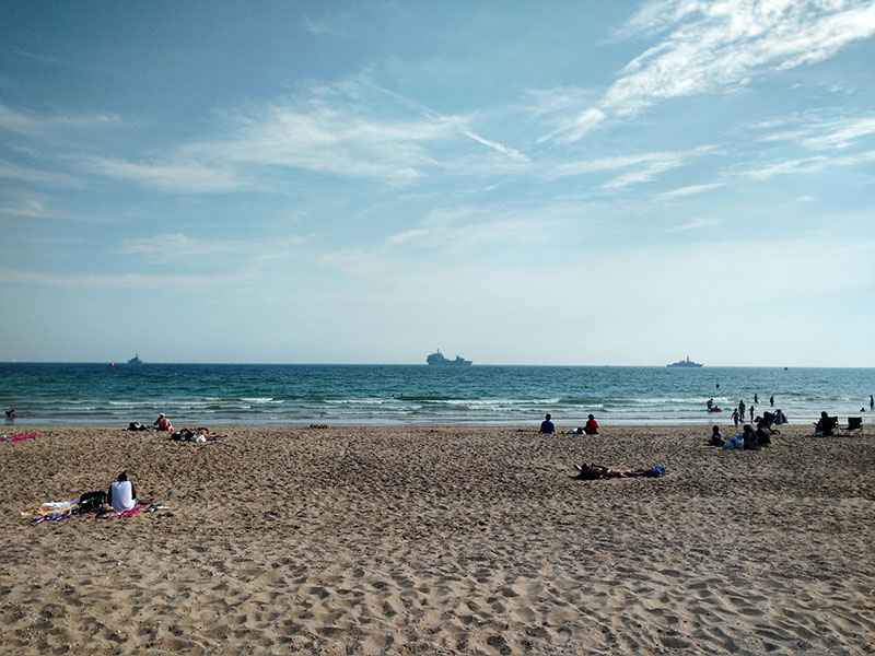 warships-bournemouth-beach