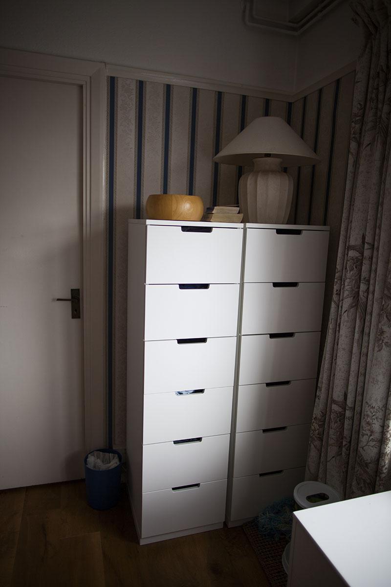 two-ikea-6-drawer-nordli-dressers-side-by-side-near-window