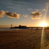 Bournemouth Pier in November