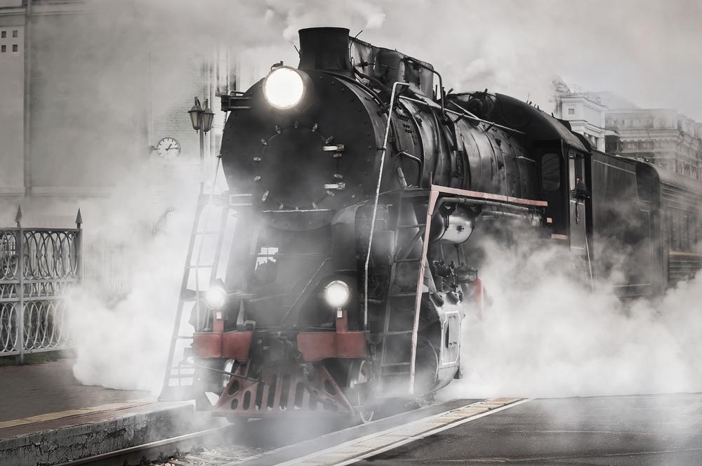 Georgia State Railroad Museums steam train
