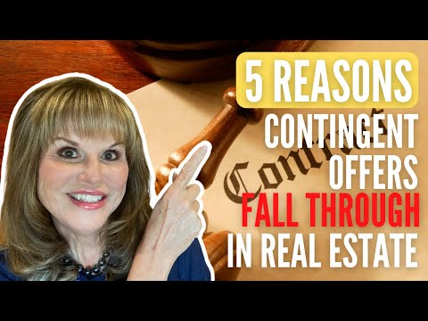 5 Reasons contingent offers fall through in real estate