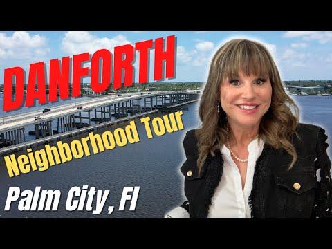 Danforth a gated community in Palm City Fl, Neighborhood Tour