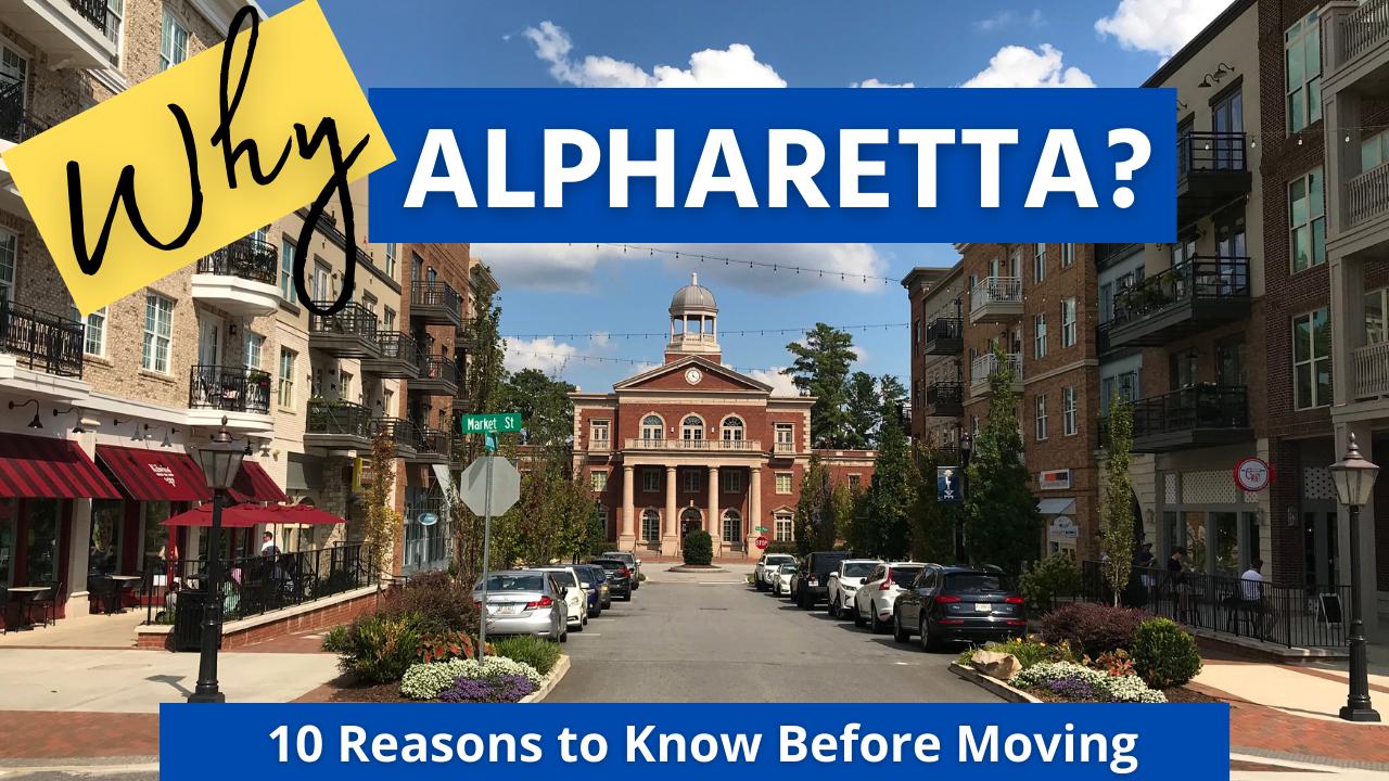 Moving to Alpharetta GA