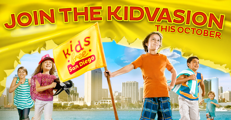 October is San Diego FREE for Kids
