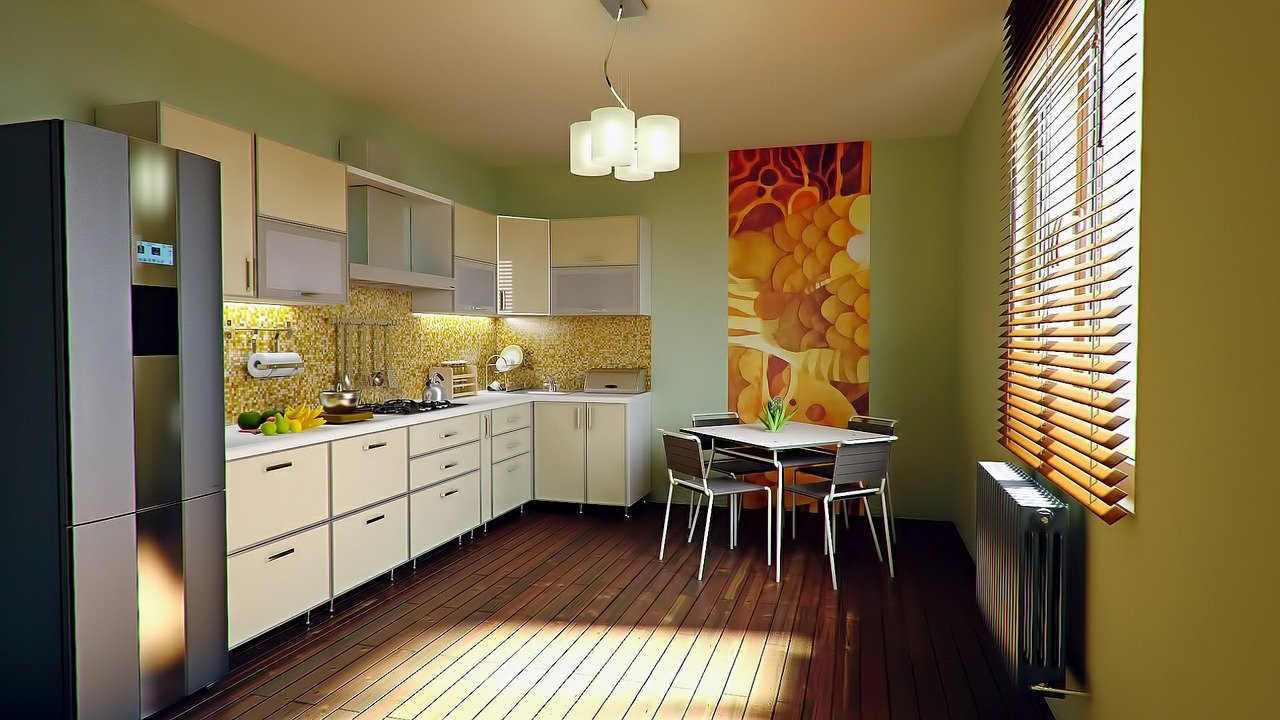 Make Your Small Kitchen appear larger with these tips