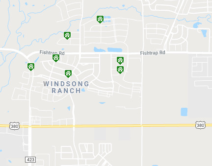 Windsong Ranch Map