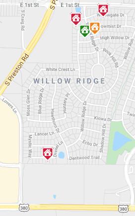 Willow Ridge Map