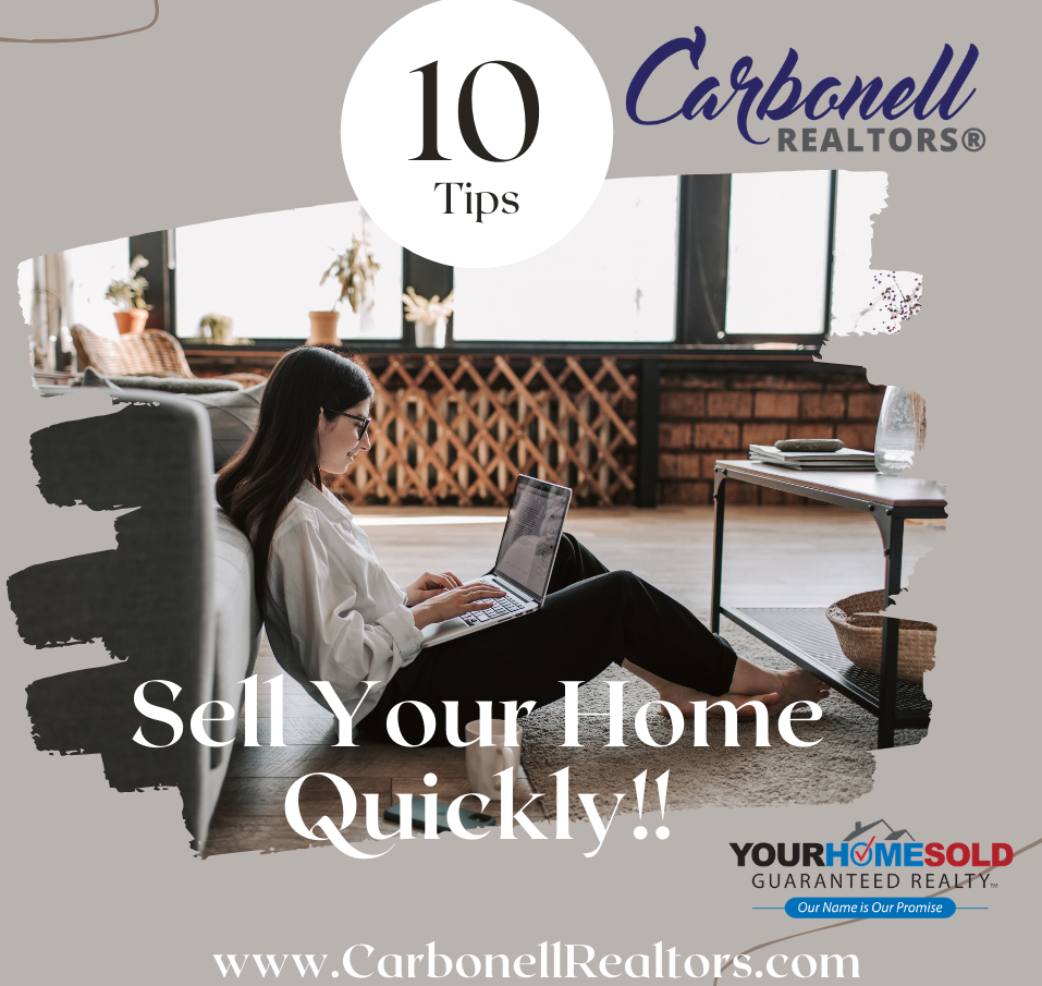 10 Tips!! Sell Your Home Quickly!!