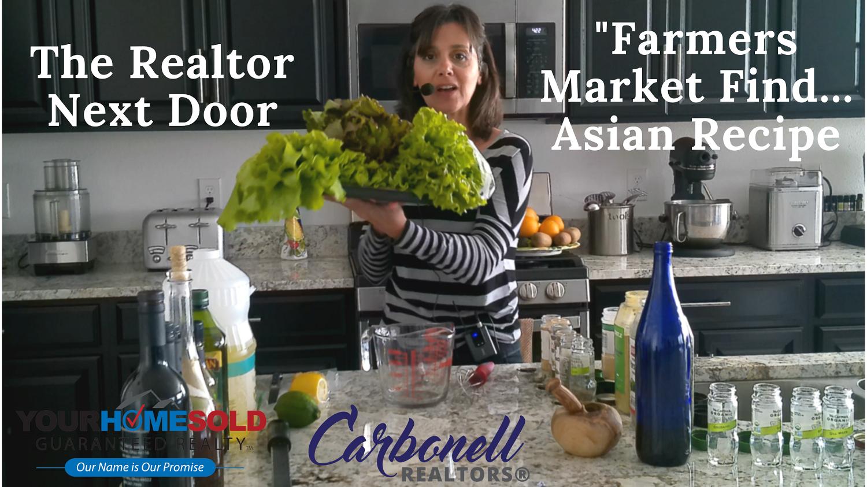 Farmers Market Find…Asian Dressing Recipe