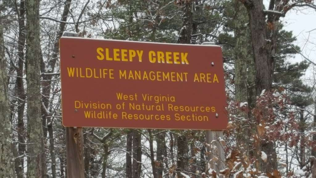 The Sleepy Creek Wildlife Management Area